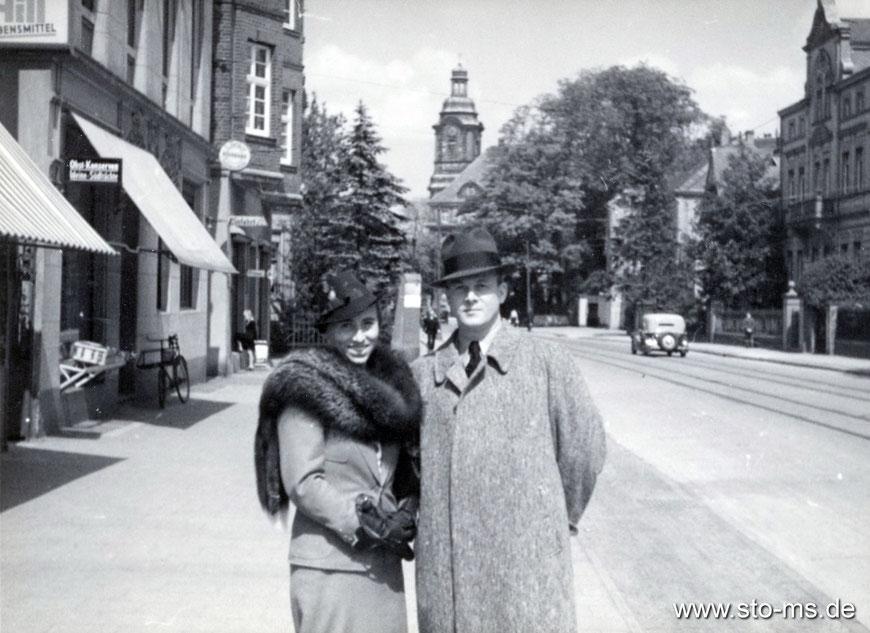 Warendorfer Straße um 1938