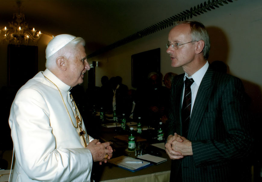 Vortrag im Jahr 2007, zu dem Papst Benedikt XVI. nach Castel-Gandolfo eingeladen hatte