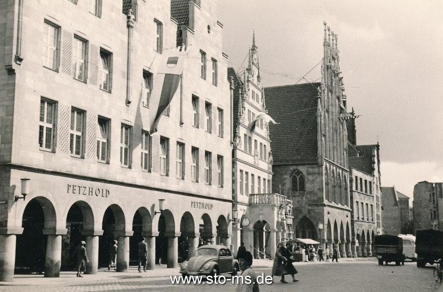 Prinzipalmarkt 1950er Jahre