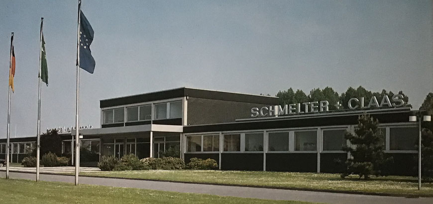 Das neue Gebäude Schmelter + Claas in Telgte
