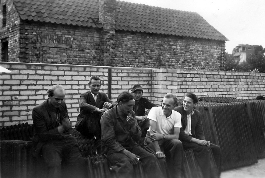 Belegschaft Firma Weil 1949 - Foto Andrea Weil