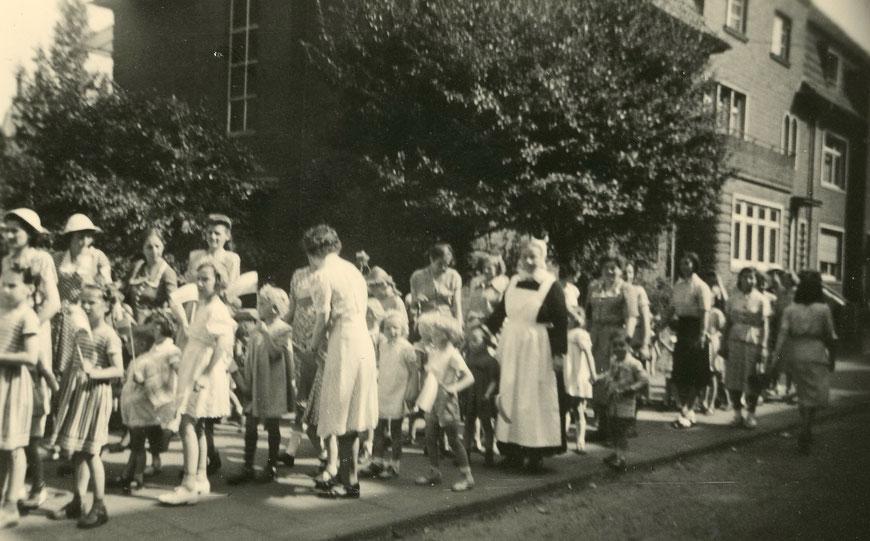 Umzug des Kindergartens im Kreuzviertel