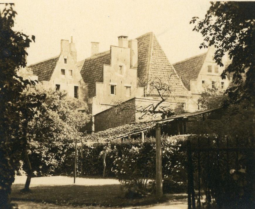 Häuser des Prinzipalmarkts vom Domplatz aus
