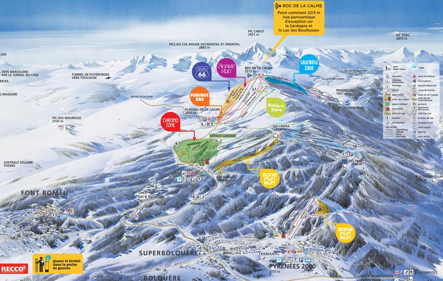 Réductions Forfaits ski Font Romeu Pyrénées 2000 Loisirs 66