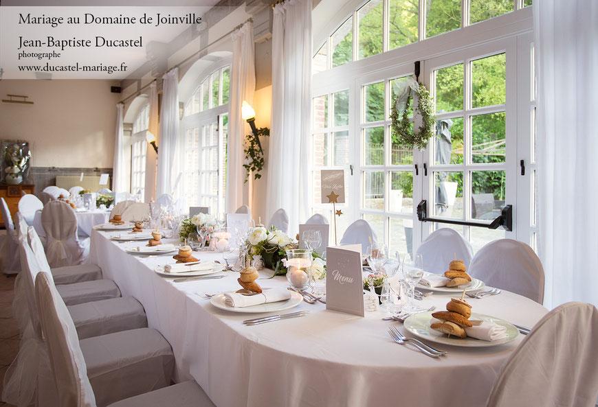 Domaine de Joinville  salle de réception mariage