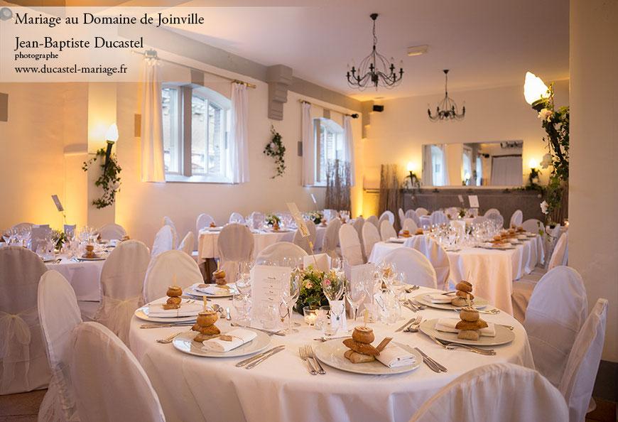 salle de réception du Domaine de Joinville 76260 Eu