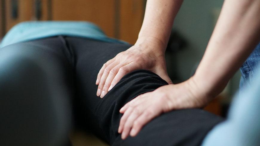 Sanjo Knie, Bluthochdruck, Rückenscherzen