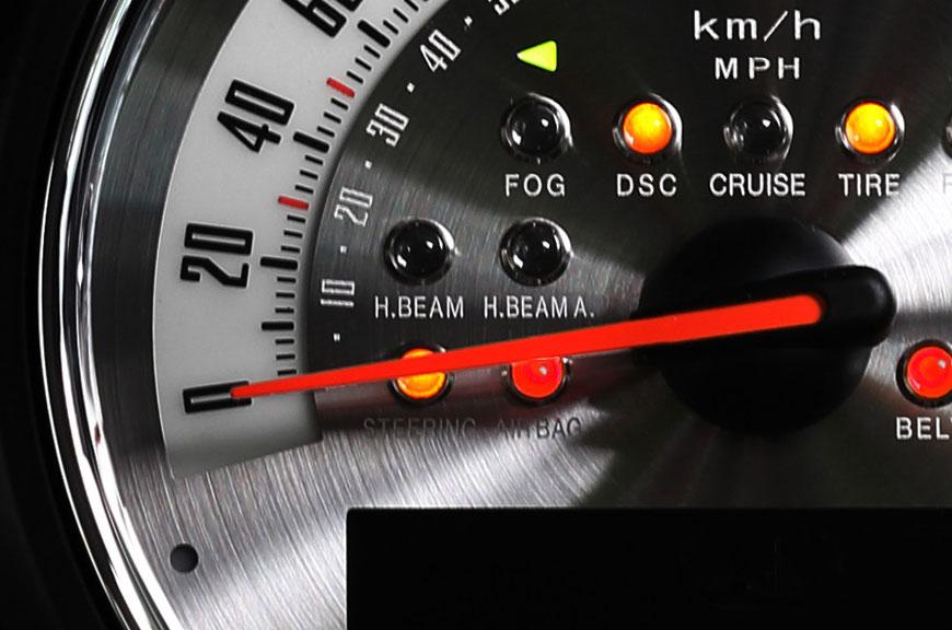 F56NEWMINI用内装パーツカスタマイズメーター