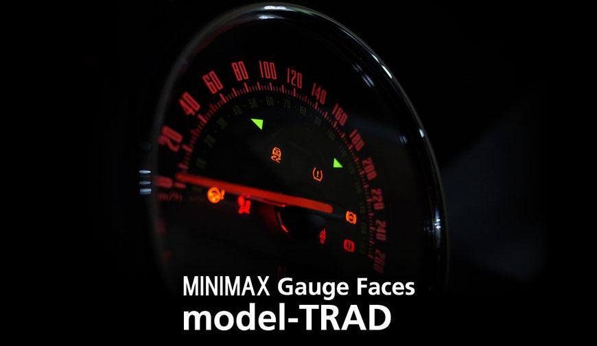 model-TRAD/mini f56 メーター 内装 パーツ
