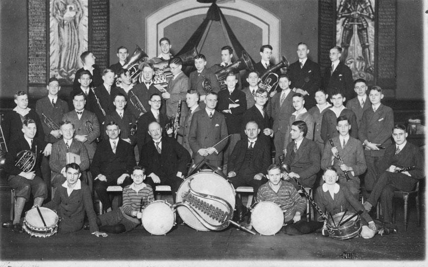 Die Euphonia, Vorgängerin unseres BlasO, im Jahre 1928 (Bild: Archiv AP)