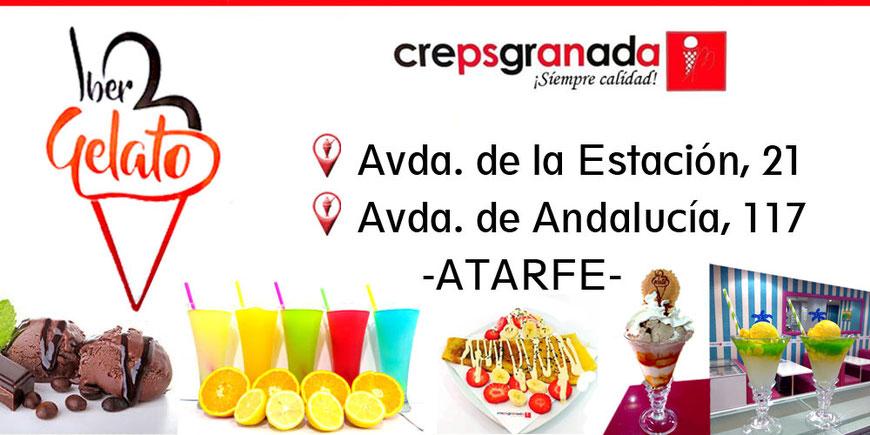 Helados Granada es Iber Gelato en Atarfe