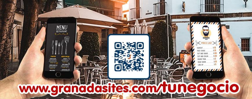 Hospedaje de comercios en Granada Sites