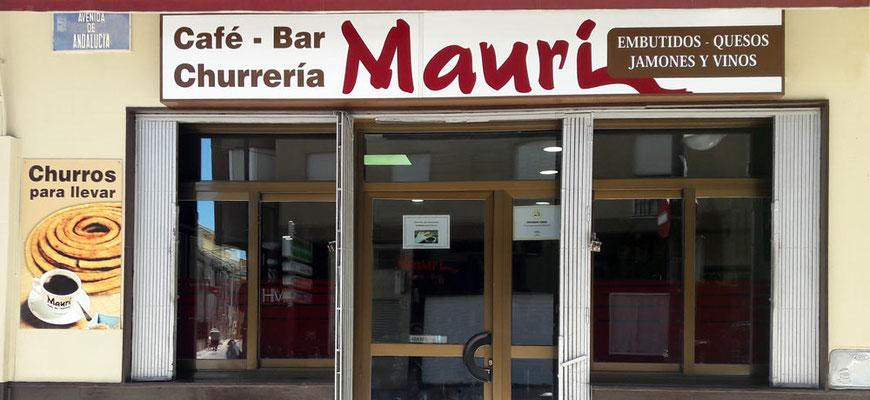 Café Bar Churrería Mauri en el centro de Atarfe