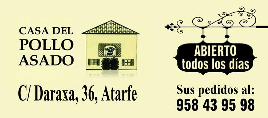 Asadero de pollos y comida casera de calidad en Atarfe