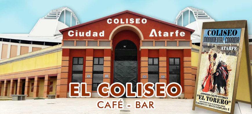 Café Bar Coliseo Atarfe, el bar del torero