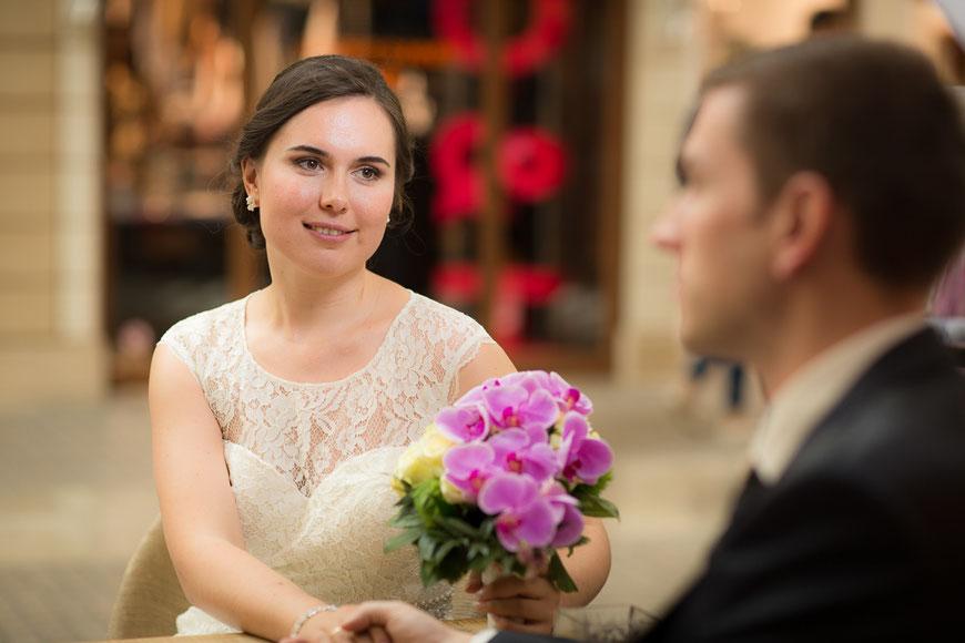 Braut Hochzeitsfoto