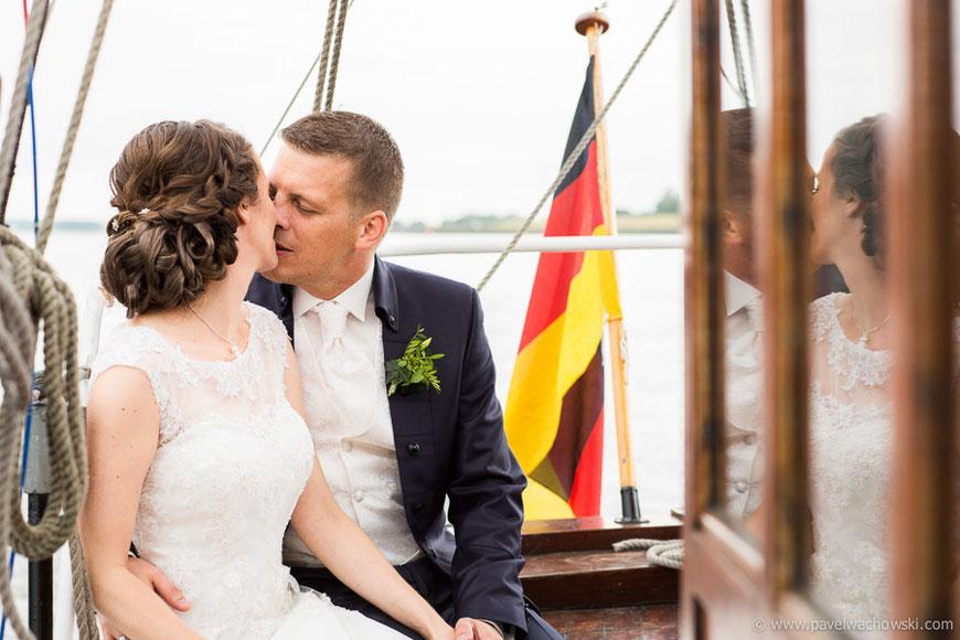 Brautpaar Deutschland Fahne