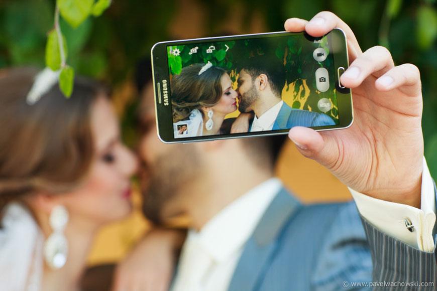 Smartphone Hochzeit