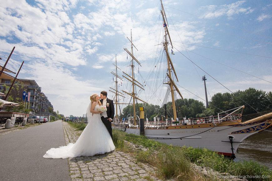 Schulschiff Deutschland Hochzeit