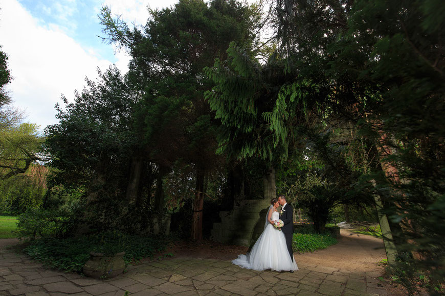 Hochzeitsfoto Thieles Garten