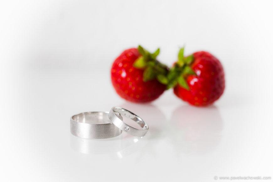 Eheringe Erdbeeren