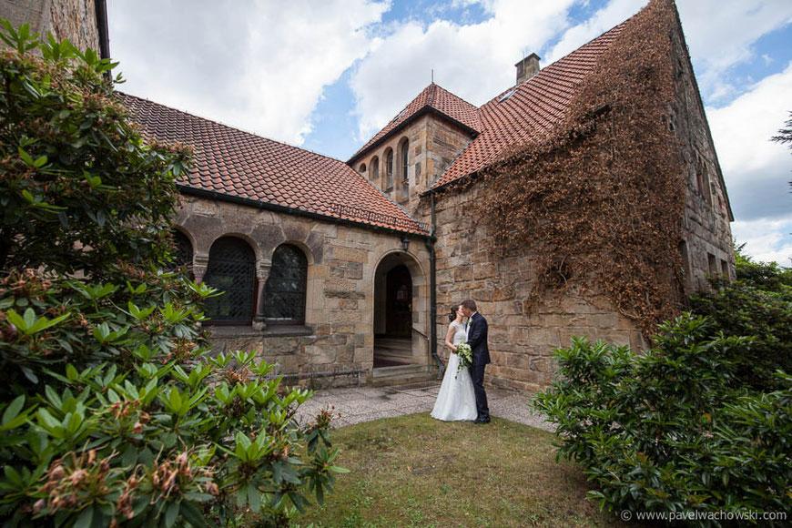 Kirche Grohn Seitlich Hochzeit