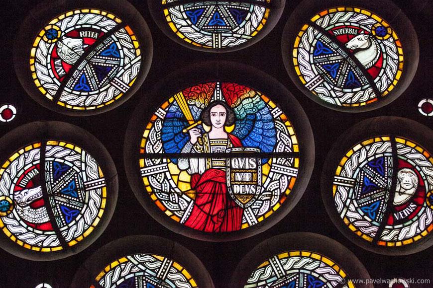 Buntglasfenster Kirche Grohn