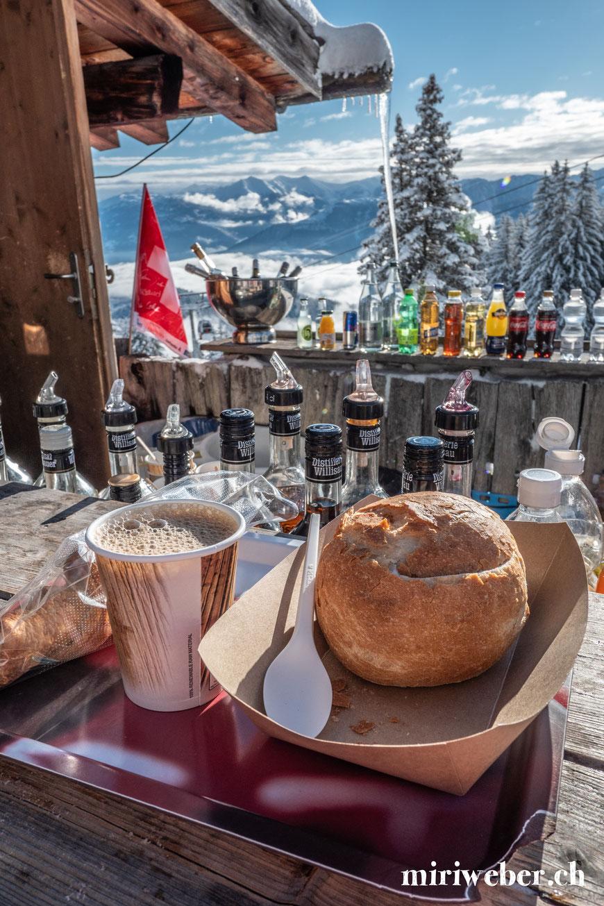 Curnius, Laax, Falera, Berghütte, Take away, Restaurant, Winter, Öffnungszeiten, Skigebiet