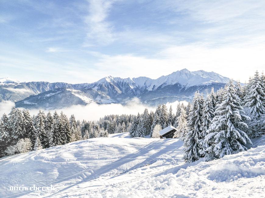 Winter, Wintersaison, Skigebiet, Flims, Laax, Falera