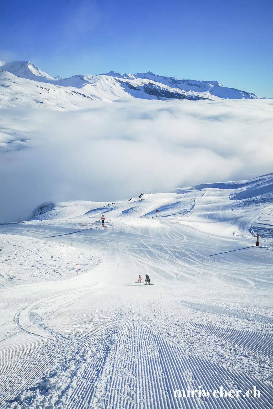 Winter, Flims, Laax, Skiferien, Pistenplan, Pisten, Bergbahnen, breite Pisten, Travel Blog Schweiz, Familienblog