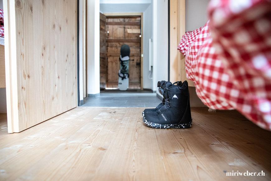 Burton Store, Laax, Tegia Alp Plaun, Flims, Laax, Berghütte, Ferienhaus, Maiensäss, Graubünden, Schweiz, Content Creator, Fotografin, Fotograf