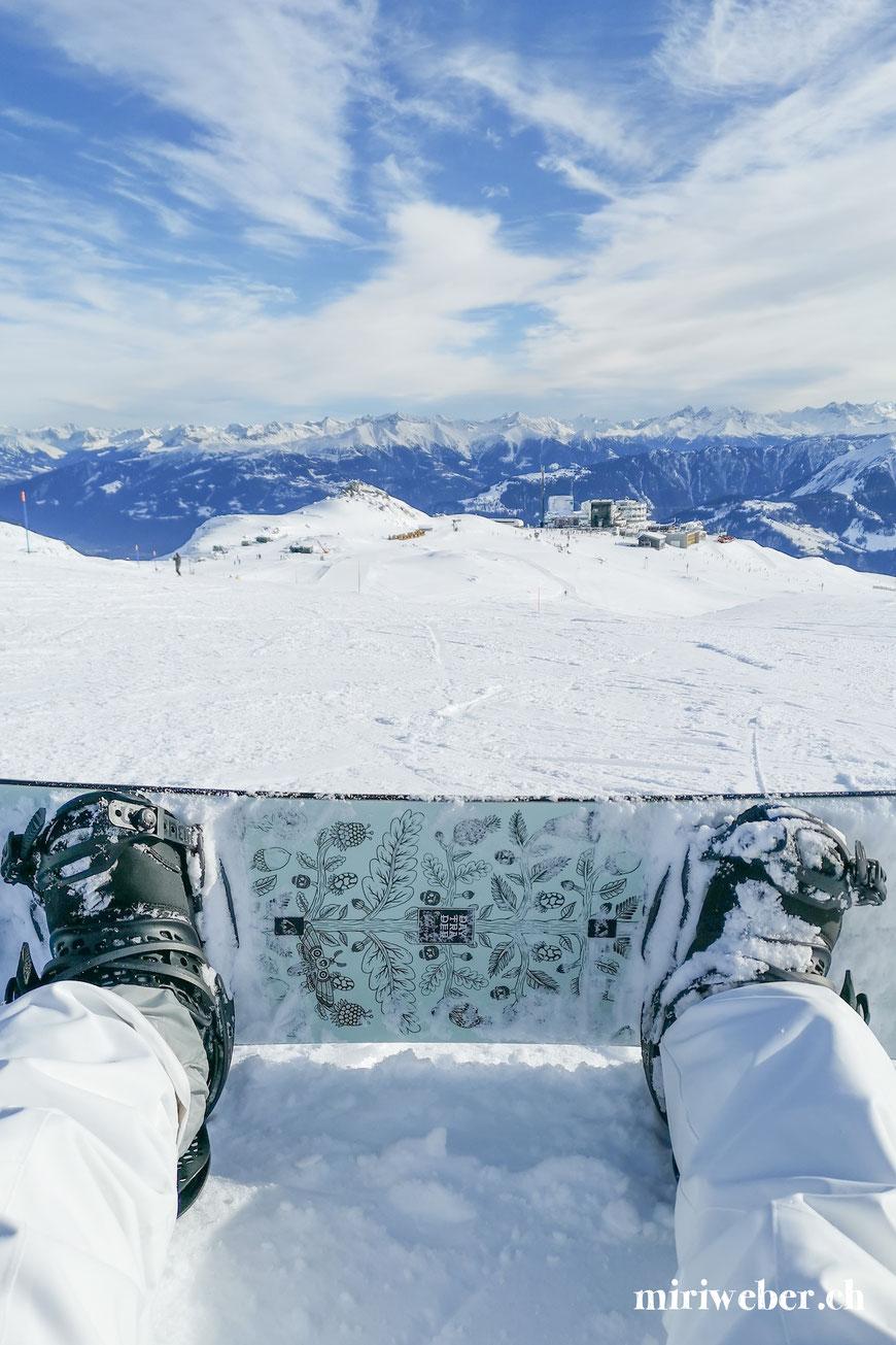 graubünden, flims, laax, falera, skipiste, travel blog schweiz, snowboard, burton, daytrader, galaaxy, crap son gion