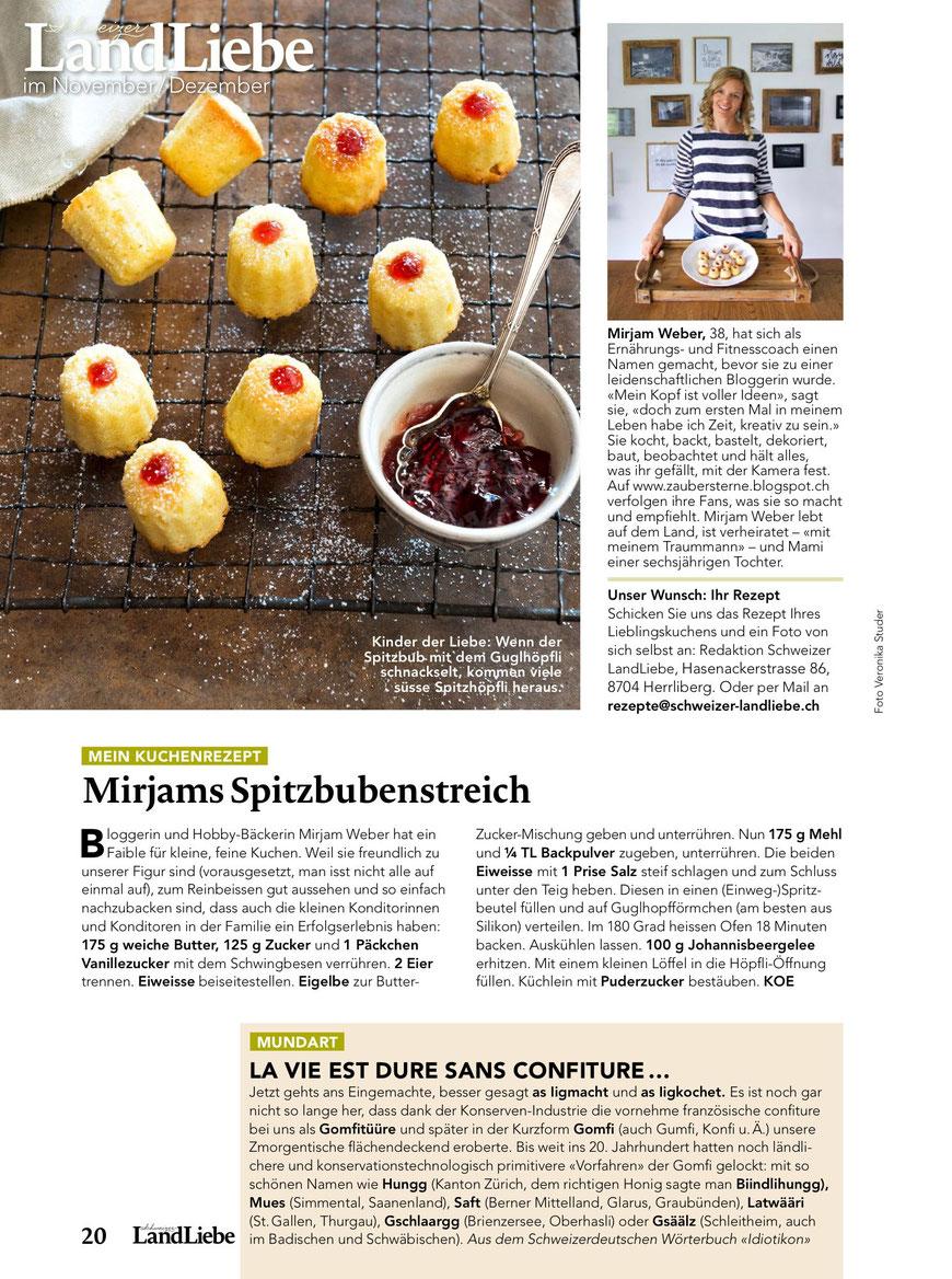 Foodblog Schweiz, Bloggerin Schweiz, Schweizer Blog, Blog Schweiz, Landliebe mein Kuchenrezept
