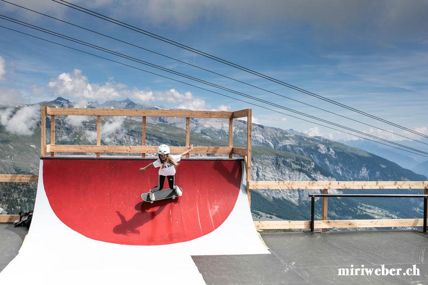 Skatepark, Galaaxy Park, Skateboarding Park, Laax, Graubünden, Schweiz, Alpen, Crap Sogn Gion, Vans Shop Riot, Event, Freestyle Park, Halfpipe, Pumptrack, Sommer, Berge, Familienferien, Skate, Team Trouble, Blog Schweiz, Travel, Flims