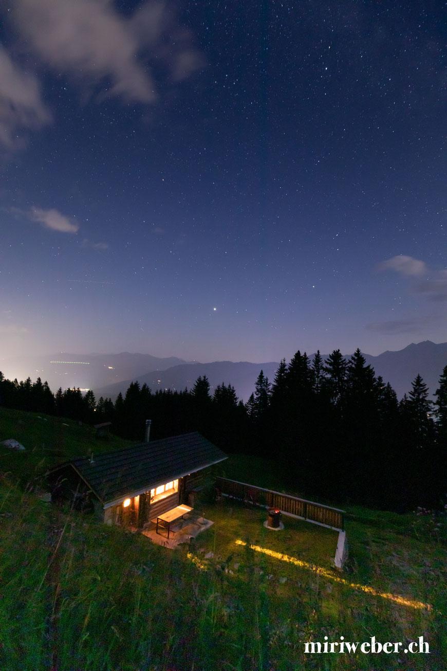 Tegia Alp Uaul, Fotografin, Flims, Laax, Falera