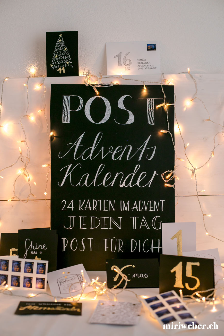 reasons2write, Besonderer Adventskalender, selber machen, Adventskalender, Idee, speziell, DIY, Karten, Post, Kreativ, Blog, Schweiz, Content Creator Schweiz, creative content, Advent, Idee, Postversand, Dezember, Weihnachtszeit