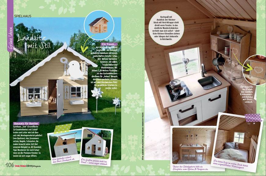 Schweizer Blog, DIY Blog, Spielhaus