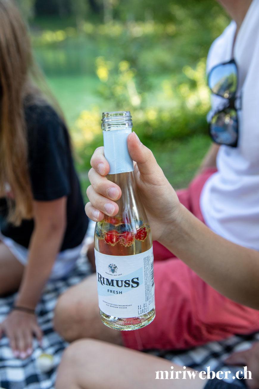 Rimuss Fresh, Piccolo, kleine Flaschen, alkoholfrei, Ideen, Caumasee, Shooting