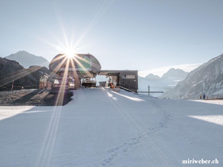 Gletscherseebahn, Sessellift, Pitztal Gletscherexpress, Gletscherbahn, Pitztal, Bergbahn, Tirol, Österreich, Gletscher, Skifahren, Snowboarden, Wildspitzbahn