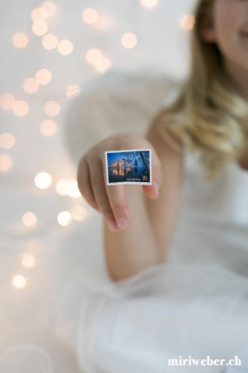 Briefmarken, Post, Weihnacht, Post Shop, Besonderer Adventskalender, selber machen, Adventskalender, Idee, speziell, DIY, Karten, Post, Kreativ, Blog, Schweiz, Content Creator Schweiz, creative content, Advent, Idee, Postversand, Dezember, Weihnachtszeit