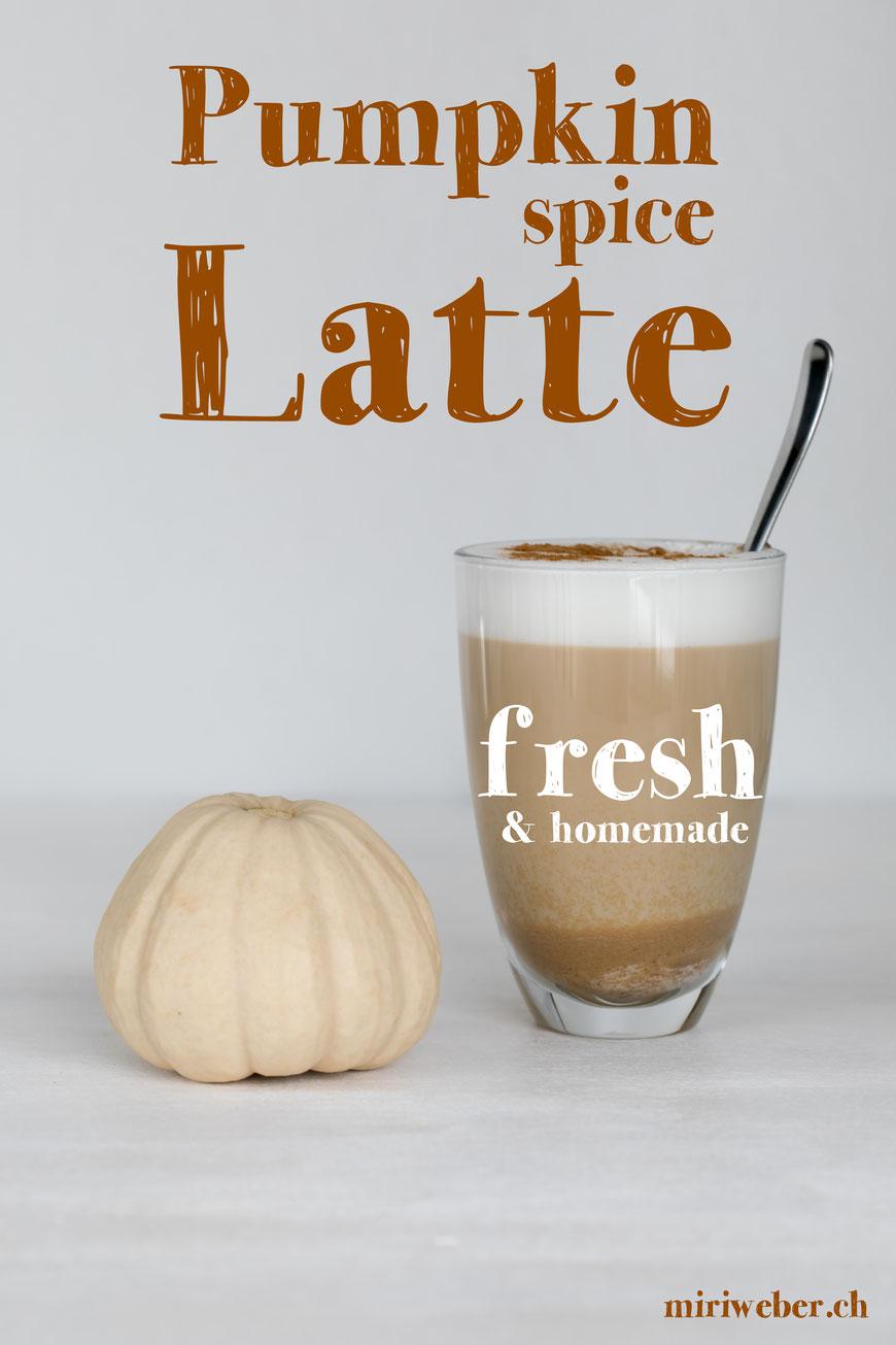 Pumkin Spice Latte, homemade, hausgemacht, ohne Zusatzstoffe, frisch, Kürbis Kaffee, Pumkin Cookies, Kürbis Guetzli, Rezept, Recipe, Foodblog, Kürbis Rezepte, Kürbis Dessert, Herbst Rezept, Schweiz
