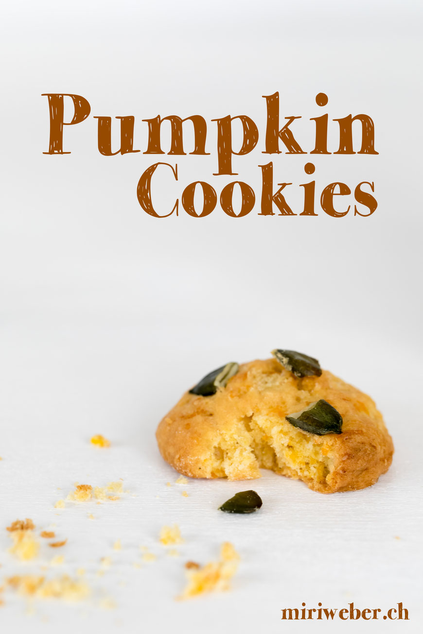 Pumkin Cookies, Kürbis Guetzli, Rezept, Recipe, Foodblog, Kürbis Rezepte, Kürbis Dessert, Herbst Rezept, Schweiz