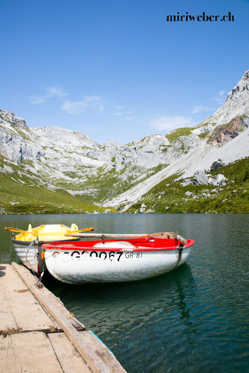 Partnunsee, Graubünden, Prättigau, Wandern, Bergsee Bungalow, littlecity.ch, Travel Blog Schweiz, Schweizer Travel Blog, Switzerland, Bergsee, Ausflug