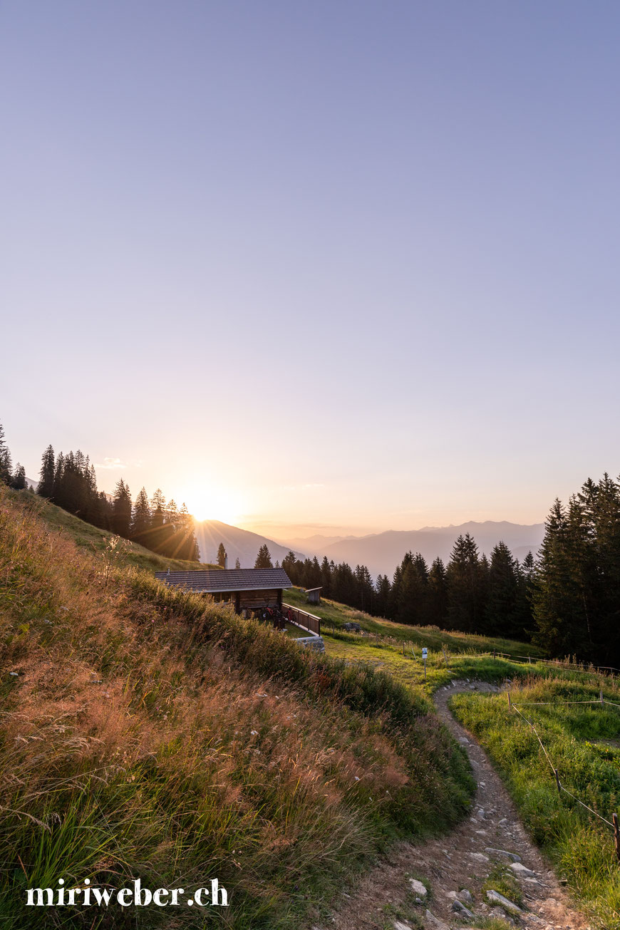 Hütte zum mieten, Flims, Laax, Falera, Tegia Alp Uaul, Fotografin, Content Creator, Graubünden