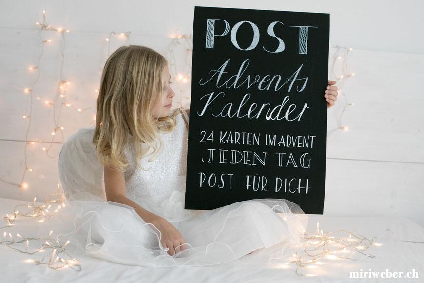 Adventskalender, Idee, Post, DIY, selber machen, speziell, besonders, kreativ, Blog