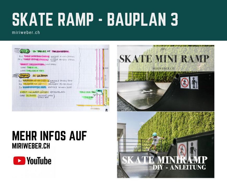 Skateboarding, Skateboard, Miniramp, Outdoor, Microramp, Half Pipe,  Mini Ramp, Micro Ramp, Bauplan, Anleitung, Baupläne, Skate, DIY Blog Schweiz, selber bauen, Tipps, Materialliste, Halfpipe,