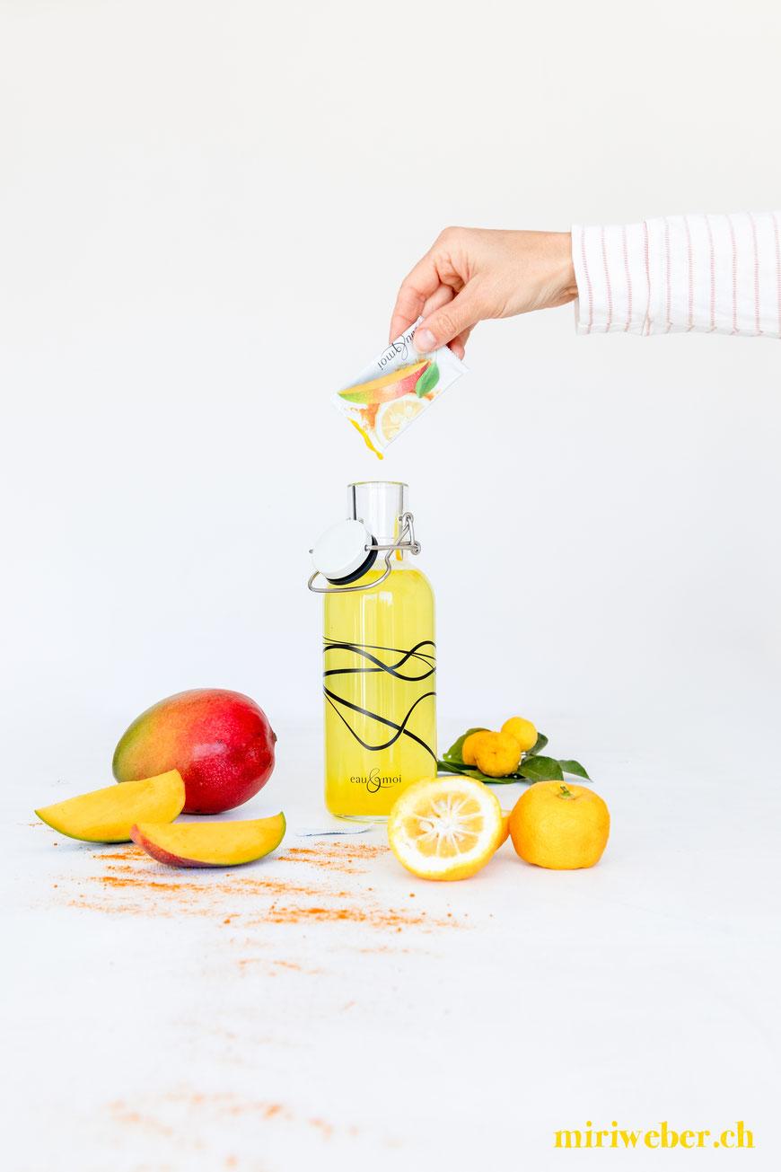 eau & moi, Wasser trinken, Content Creator, Food Fotografie, Fotograf, Flims, Laax, Schweiz, Content Creation, Food Blog, Niels Rodin