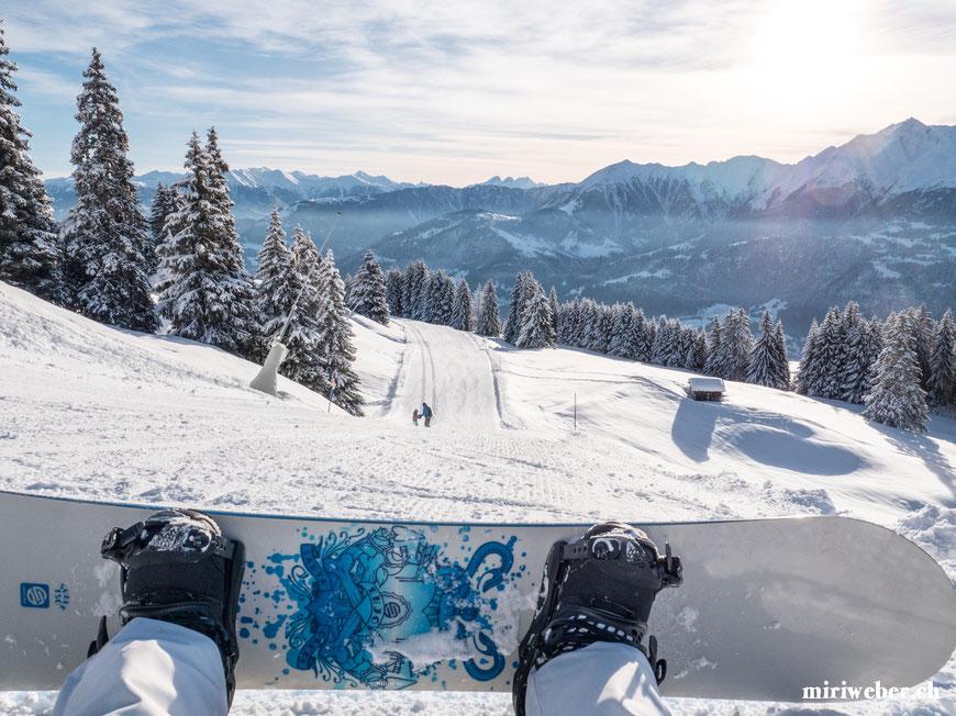 Graubünden, Laax, Snowboarden, Skifahren, Winter, Travel, Urlaub, Skiferien