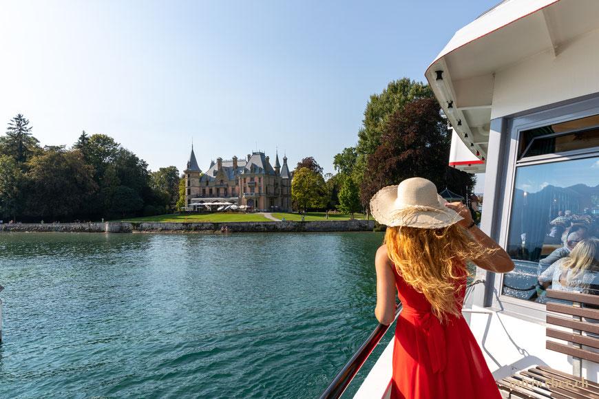 BLS, Schiff Thunersee, Schloss Schadau, Hotel, schlafen im Schloss, Schlosshotel, Berner Oberland, Thun, Content Creator Schweiz, Fotografin, Thun, heiraten, Hochzeit