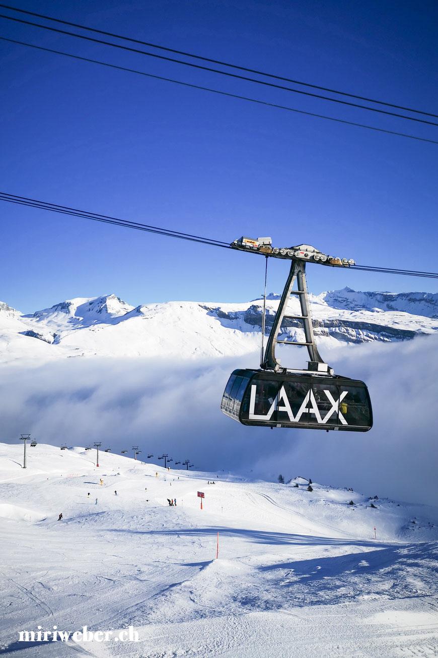Laax Bergbahnen, Skitickets, Flims, Laax, Falera, Skigebiet, Winterferien, Familien Ferien, Seilbahn, Travel Blog Schweiz, Schweizer Travel Bloggerin, bestes Skigebiet in der Schweiz, Graubünden, Snowboarden, Schweiz, Winter